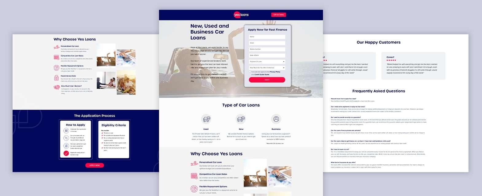 Yes Loans Digital Marketing Solution